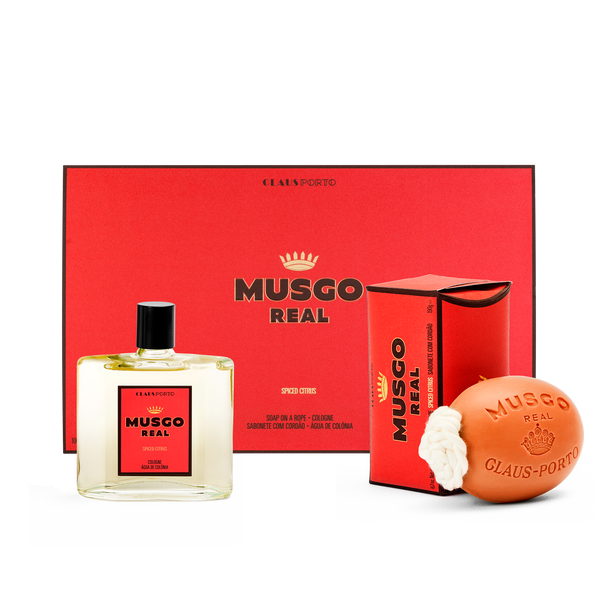 Gift Set Musgo Real Spiced Citrus