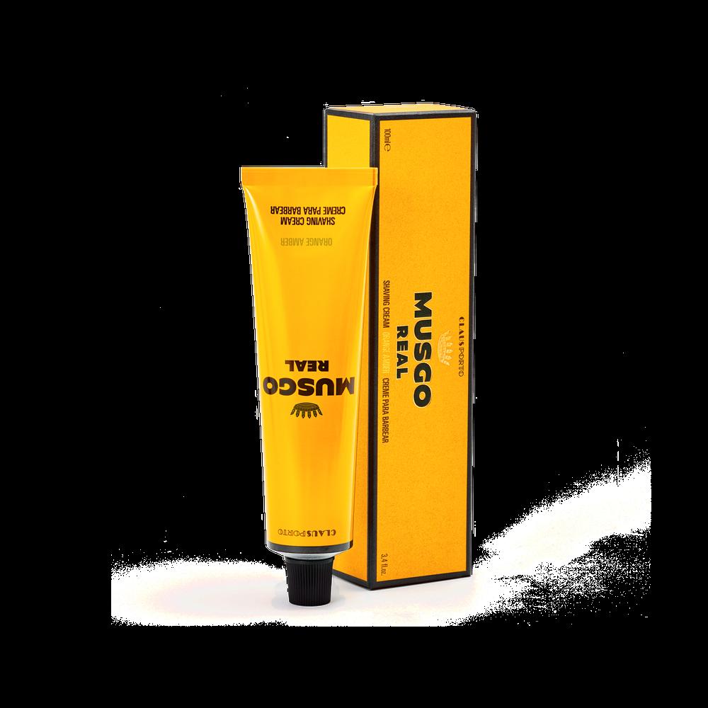 Creme de Barbear Orange Amber
