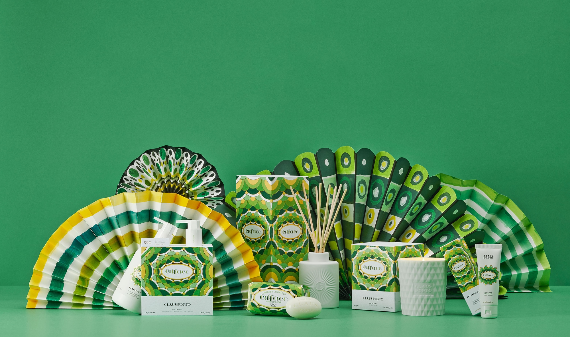 Alface Green Leaf Product Range with Bath & Body and Home Fragrances